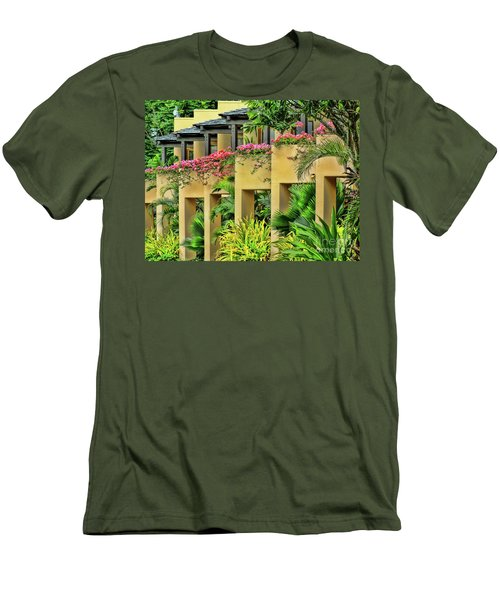 Symmetry  Men's T-Shirt (Slim Fit) by Karen Lewis