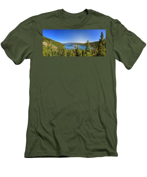 Tahoe Moutain View Men's T-Shirt (Athletic Fit)