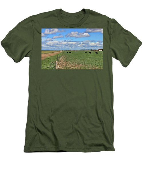Take Me Home Country Roads Men's T-Shirt (Athletic Fit)