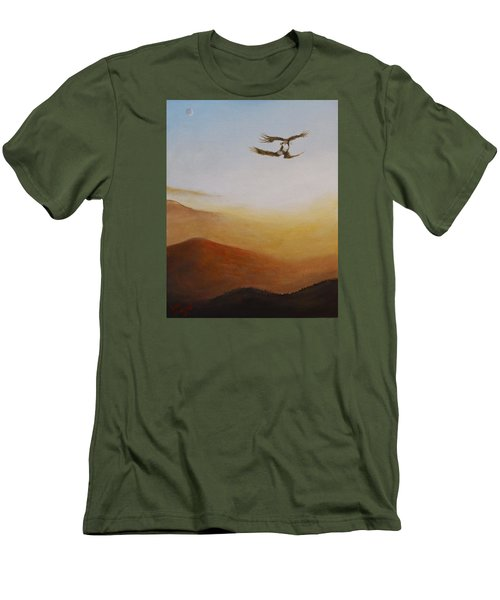 Talon Lock Men's T-Shirt (Slim Fit) by Dan Wagner