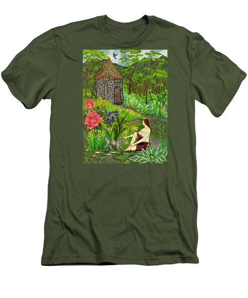 Tansel's Garden Men's T-Shirt (Athletic Fit)