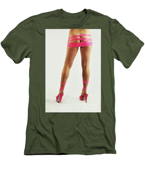 Tape And Heels Men's T-Shirt (Slim Fit) by Robert WK Clark