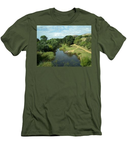 Tasmanian Landscape Men's T-Shirt (Athletic Fit)