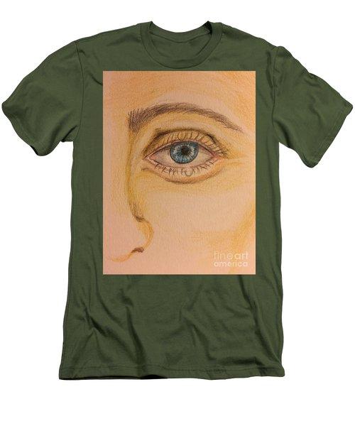 Tear Drop Men's T-Shirt (Athletic Fit)
