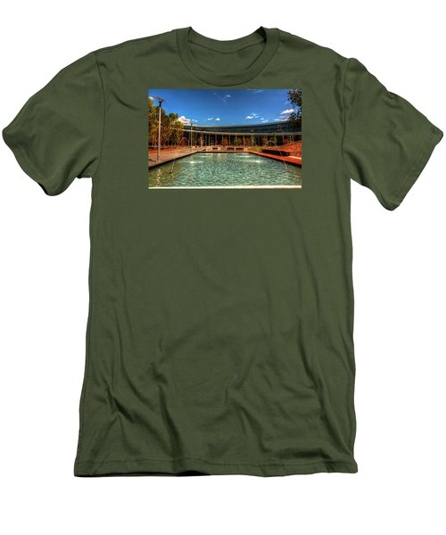 Technology Center Of Excellence Men's T-Shirt (Slim Fit) by Ester  Rogers