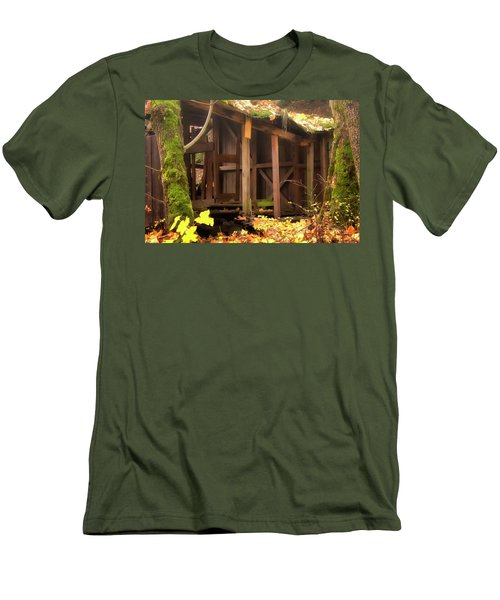 Temporary Shelter Men's T-Shirt (Slim Fit) by Albert Seger