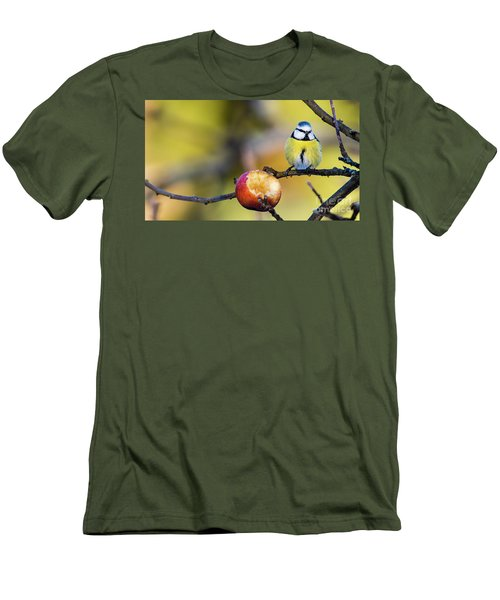 Men's T-Shirt (Slim Fit) featuring the photograph Tempting by Torbjorn Swenelius
