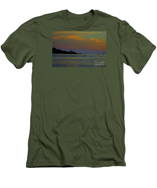 Ten Pound Light  At Dusk Men's T-Shirt (Athletic Fit)