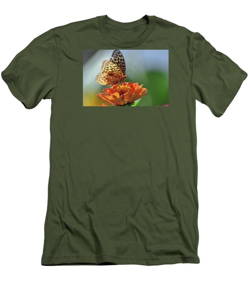 Men's T-Shirt (Slim Fit) featuring the photograph Tenderness by Glenn Gordon