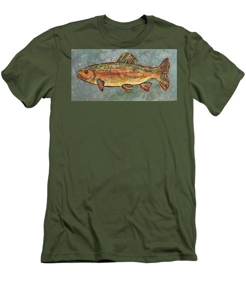 Teresa The Trout Men's T-Shirt (Athletic Fit)