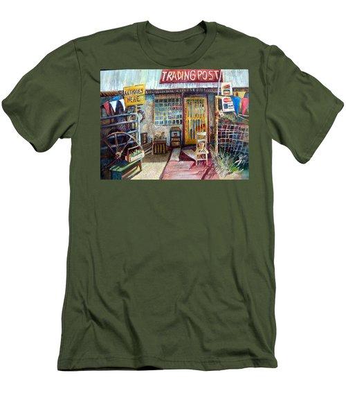 Texas Store Front Men's T-Shirt (Slim Fit)
