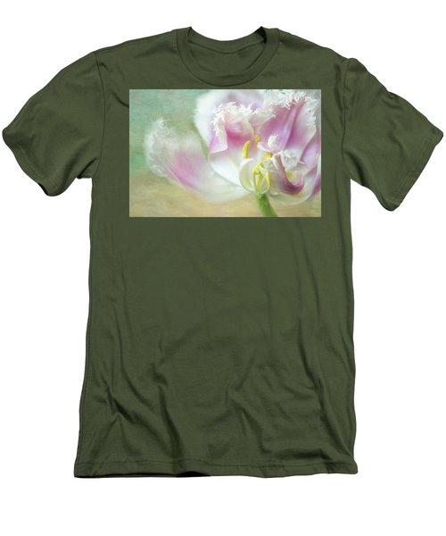 Textured Tulip Men's T-Shirt (Athletic Fit)