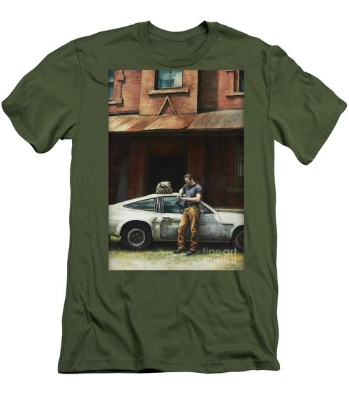 That Fleeting Moment Captured Men's T-Shirt (Slim Fit) by Yvonne Wright
