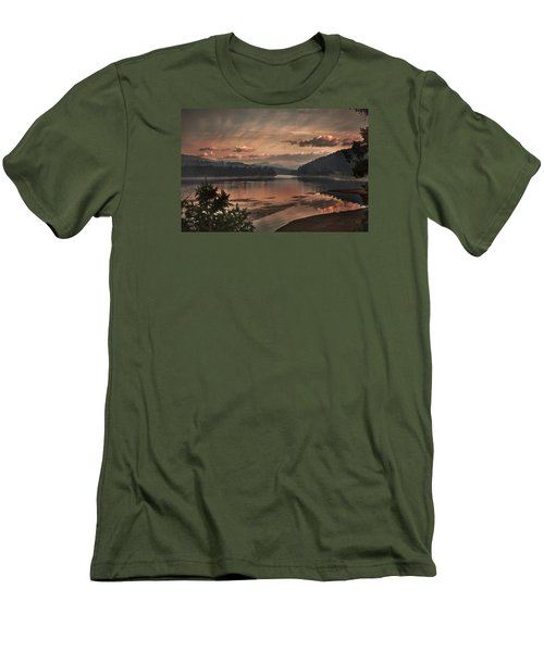 The Adventure Begins Men's T-Shirt (Athletic Fit)