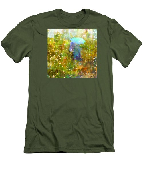 The Approach Of Autumn Men's T-Shirt (Athletic Fit)