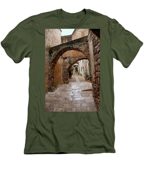The Archways Of Villecroz Men's T-Shirt (Athletic Fit)