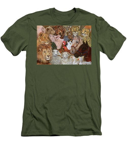 The Ark Spread Men's T-Shirt (Athletic Fit)