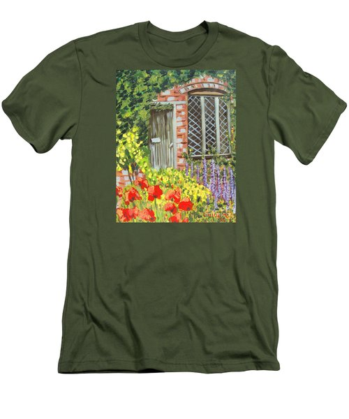 The Artist's Cottage Men's T-Shirt (Slim Fit) by Laurie Morgan