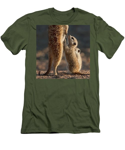The Baby Is Hungry Men's T-Shirt (Athletic Fit)