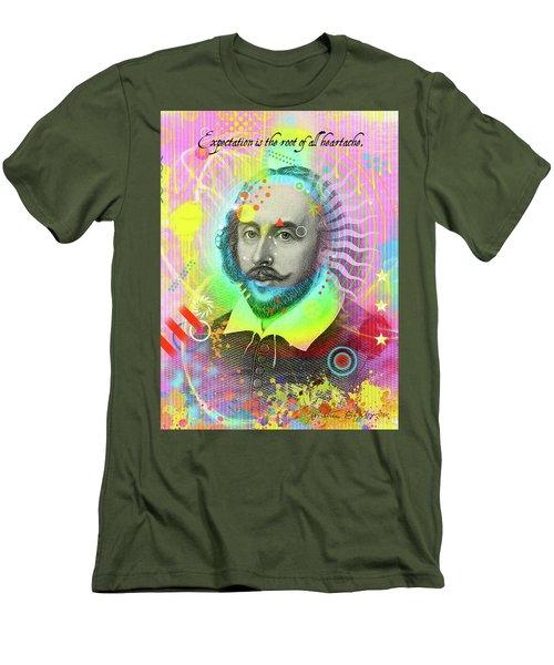 The Bard Men's T-Shirt (Slim Fit) by Gary Grayson