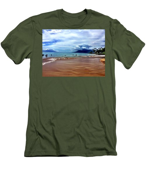 The Beach Men's T-Shirt (Slim Fit) by Michael Albright