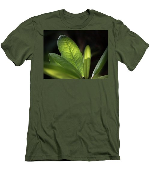The Beauty Of A Leaf - Men's T-Shirt (Athletic Fit)