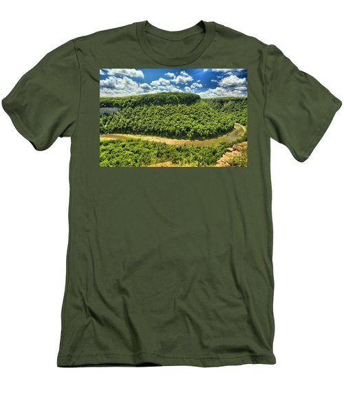 The Big Bend Men's T-Shirt (Athletic Fit)
