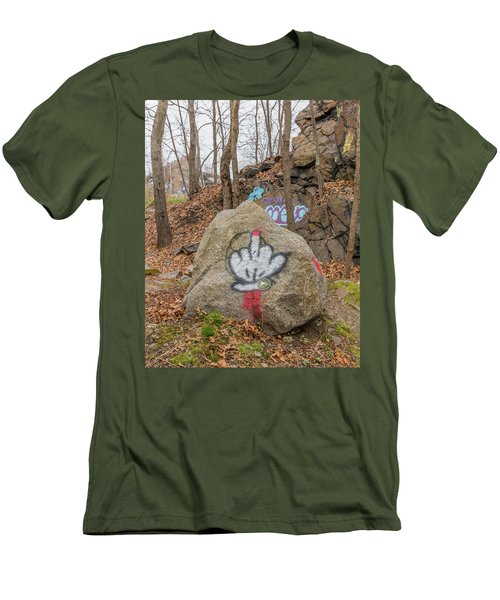 The Bird Men's T-Shirt (Slim Fit) by Brian MacLean