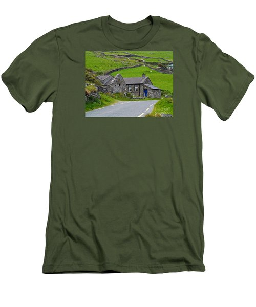 The Blue Door Men's T-Shirt (Athletic Fit)