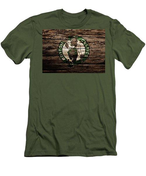 The Boston Celtics 6e Men's T-Shirt (Slim Fit) by Brian Reaves