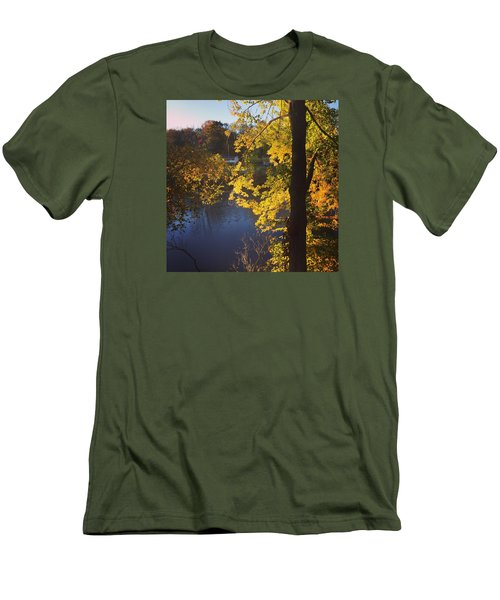 The Brilliance Of Nature Leaves Me Speechless Men's T-Shirt (Slim Fit) by Jason Nicholas