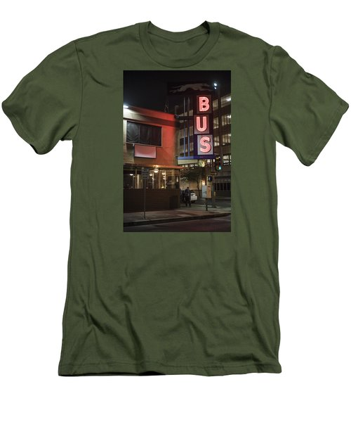 The Bus Stop Men's T-Shirt (Athletic Fit)