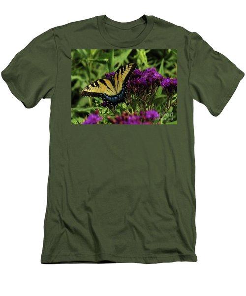 The Butterfly Buffet Men's T-Shirt (Slim Fit) by J L Zarek
