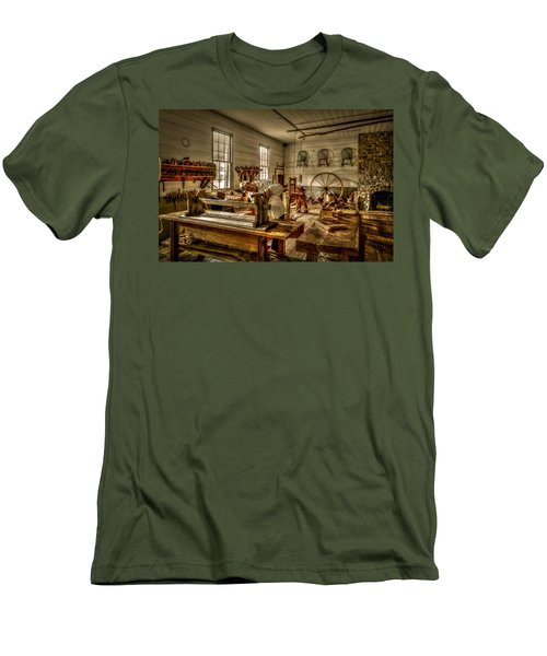 Men's T-Shirt (Athletic Fit) featuring the photograph The Cabinetmaker by David Morefield