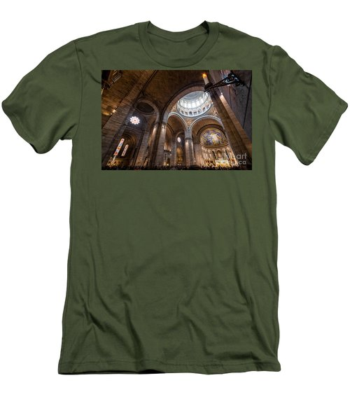 The Candle Men's T-Shirt (Slim Fit) by Giuseppe Torre