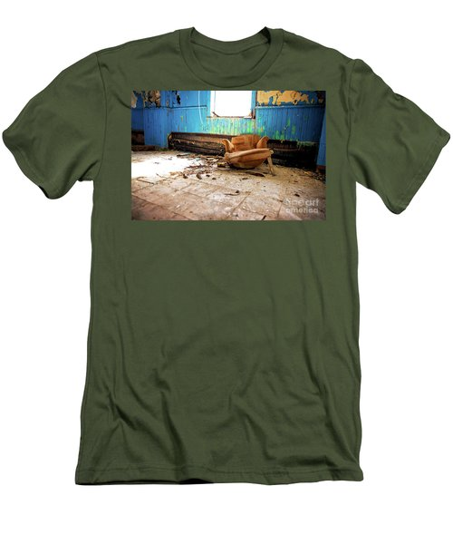 Men's T-Shirt (Slim Fit) featuring the photograph The Chair by Randall Cogle