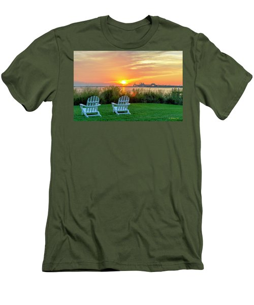 The Chesapeake Men's T-Shirt (Slim Fit) by Brian Wallace