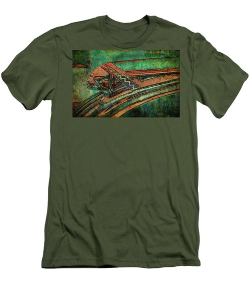 Men's T-Shirt (Slim Fit) featuring the digital art The Chief by Greg Sharpe
