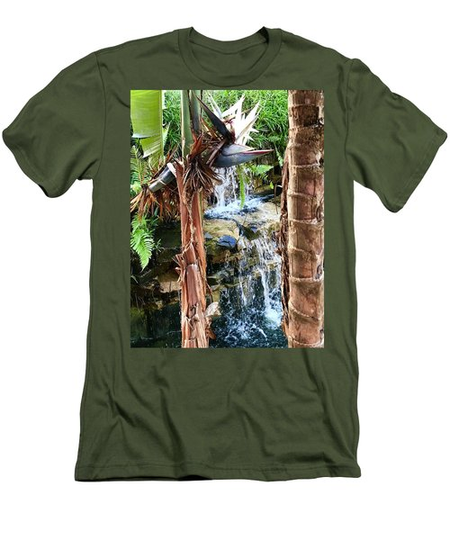 The Choice For Life Men's T-Shirt (Slim Fit) by Kicking Bear Productions
