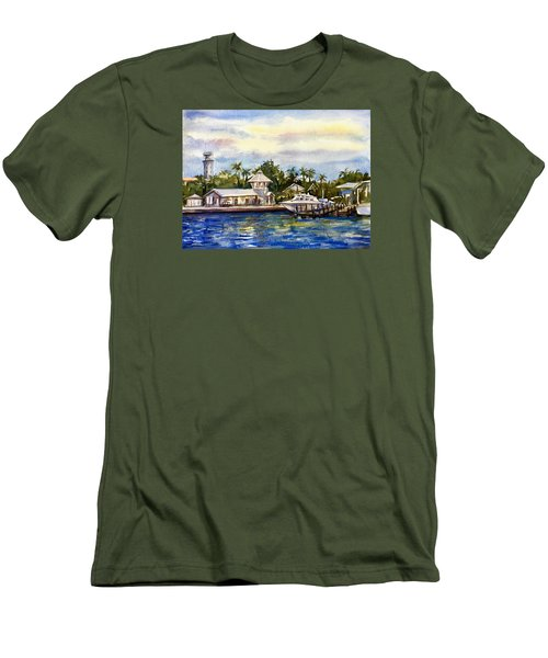 The Coast Of Nassau Men's T-Shirt (Athletic Fit)