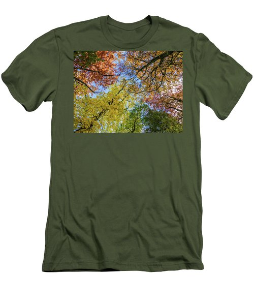 The Colors Of Autumn Men's T-Shirt (Athletic Fit)