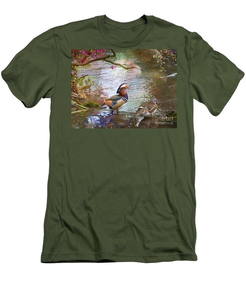 Men's T-Shirt (Slim Fit) featuring the photograph The Colours Of Spring by LemonArt Photography