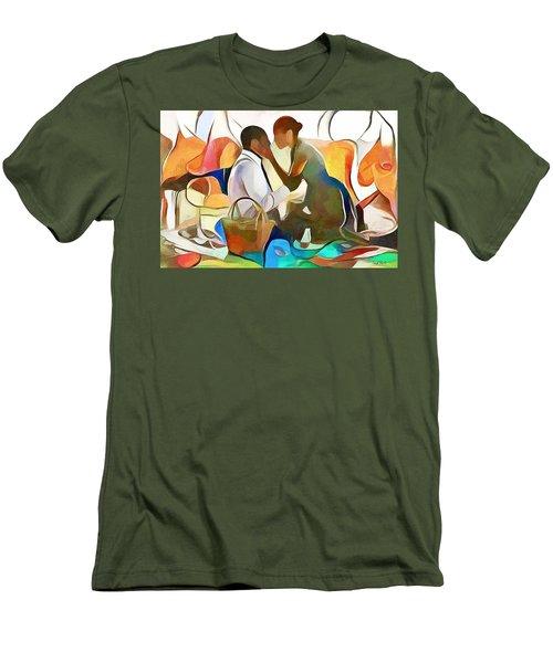 The Confidante Men's T-Shirt (Athletic Fit)