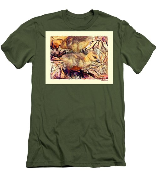 The Critic Men's T-Shirt (Slim Fit) by Ludwig Keck