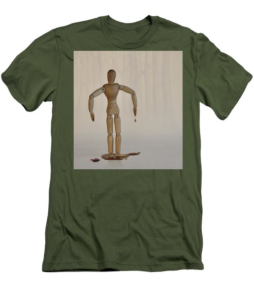 Men's T-Shirt (Slim Fit) featuring the photograph The Curse Of Maple Tree Ancestry by Mark Fuller