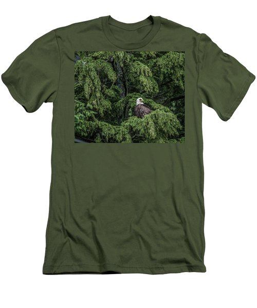 Men's T-Shirt (Slim Fit) featuring the photograph The Dark Eyed One by Timothy Latta