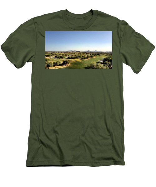 The Distance Men's T-Shirt (Athletic Fit)