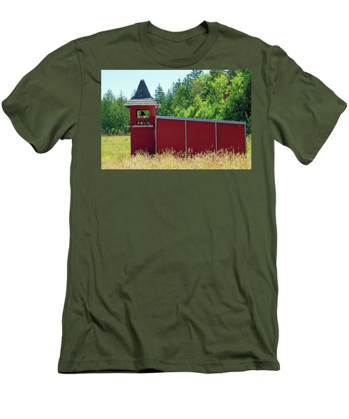 Men's T-Shirt (Athletic Fit) featuring the photograph The Dove Loft by Tikvah's Hope