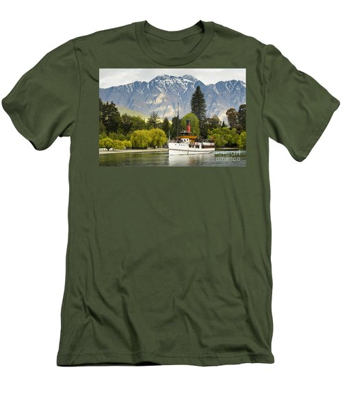 The Earnslaw Men's T-Shirt (Slim Fit) by Werner Padarin