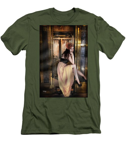 The Elevator Girl Men's T-Shirt (Athletic Fit)